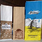 Производство «Бумажные пакеты с плоским дном для муки, крупы, чая, кофе» доставка из г.Киев