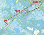 Продаю собственные 4 смежных участка по 2.3 га в Святопетровском Киев