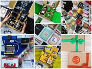 Создание и продажа подарочных боксов, печать на чашках доставка из г.Киев