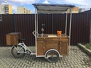 Мобильный фреш-бар на велорикше доставка из г.Ужгород