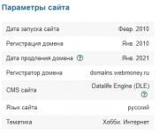 Исходные коды собственных модулей для DLE Николаев